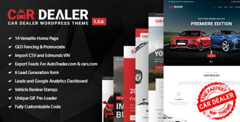 Car Dealer -  Automotive Responsive WordPress Theme
