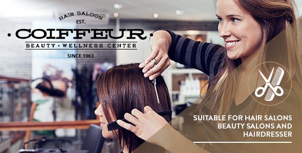 Coiffeur - Hair Salon WordPress Theme