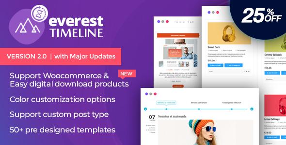 Everest Timeline - Responsive WordPress Timeline Plugin