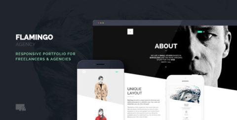 Flamingo - Agency & Freelance Portfolio Theme for WordPress