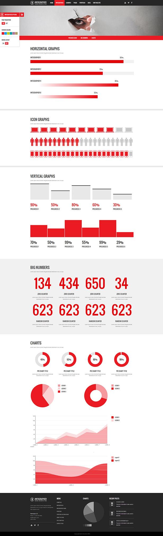 Infographer - Multi-Purpose Infographic Theme - 1