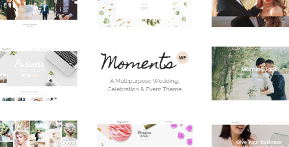 Moments - Wedding & Event Theme