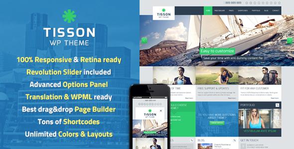 Tisson WordPress Theme