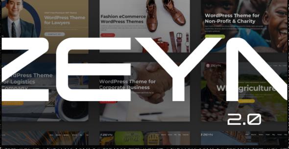 Zeyn 2.0 - Multipurpose WordPress Theme