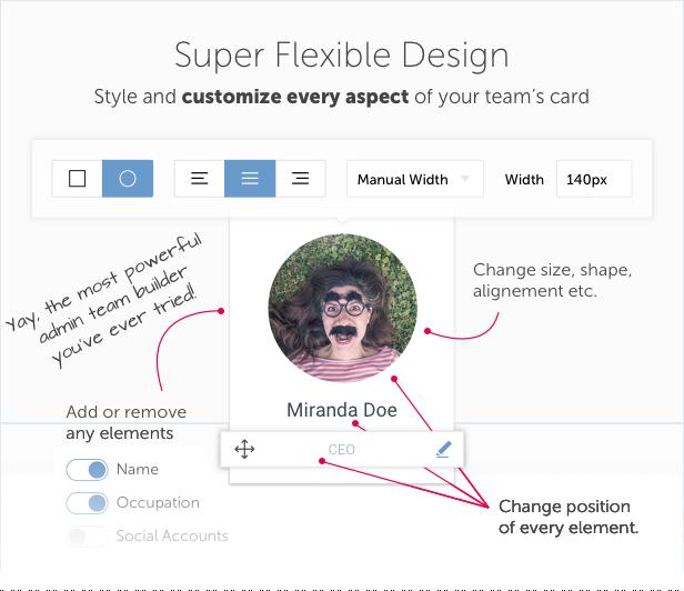 Team Builder — Meet The Team WordPress Plugin - 4