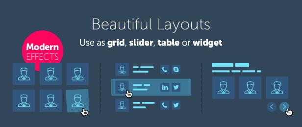 Team Builder — Meet The Team WordPress Plugin - 1