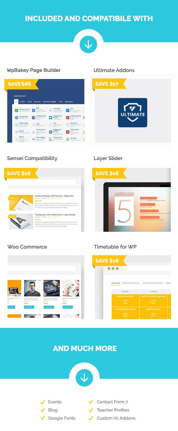 Skilled | School Education Courses WordPress Theme - 4