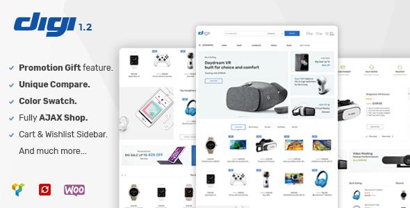 Elessi - WooCommerce AJAX WordPress Theme - RTL support - 1