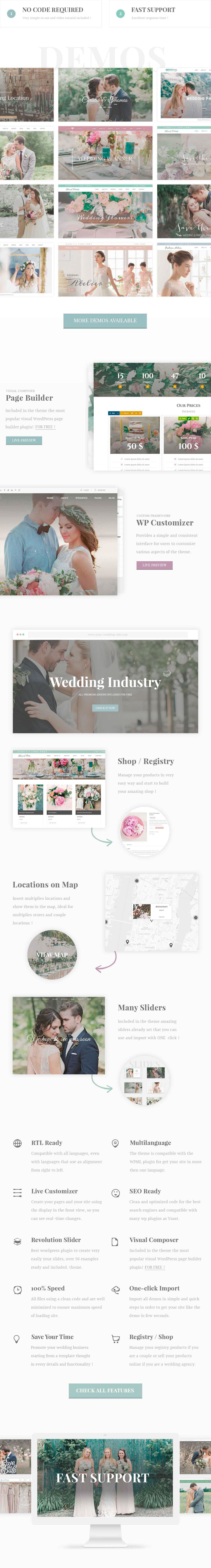 Wedding Industry - Wedding Multipurpose Couple WP - 1