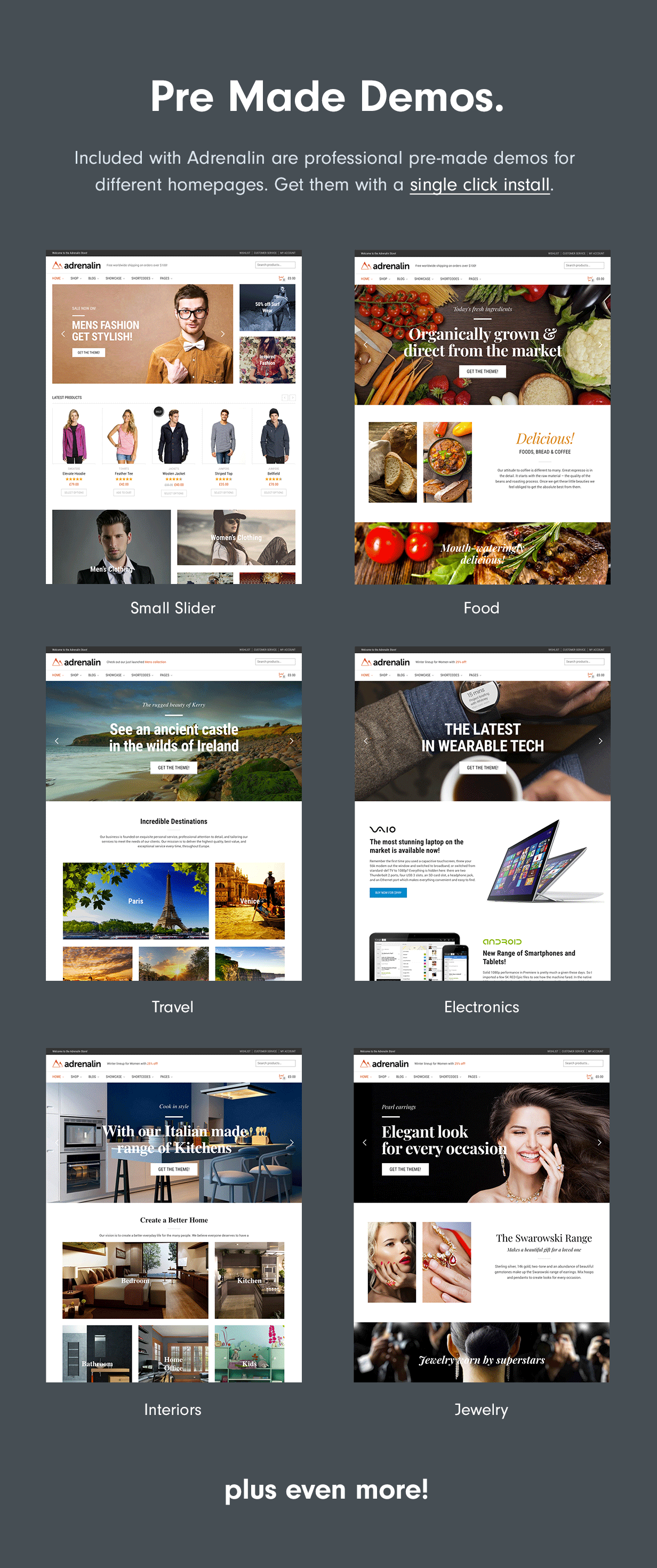 10 Homepages