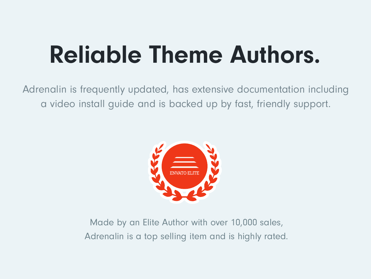 Reliable authors