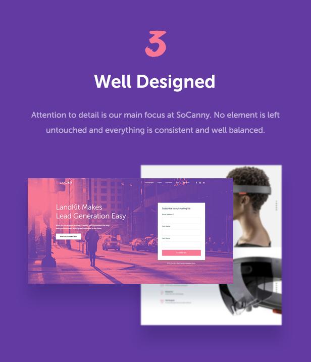Landkit - WordPress Landing Page Theme - 7
