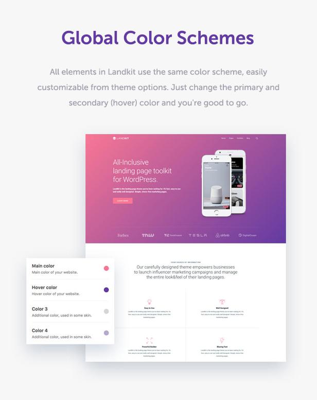 Landkit - WordPress Landing Page Theme - 9