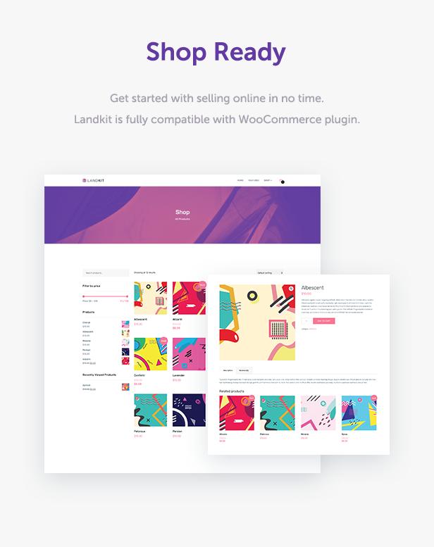 Landkit - WordPress Landing Page Theme - 10