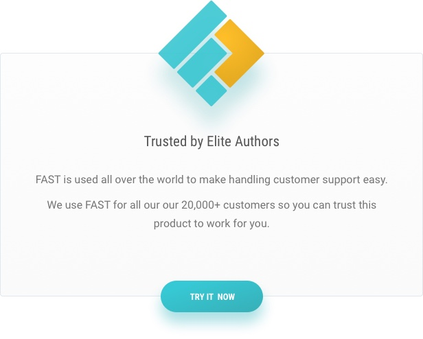 Fast Support plugin - The Choice of elite authors