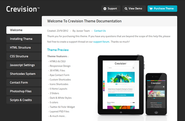 Crevision - Responsive HTML Template - 5