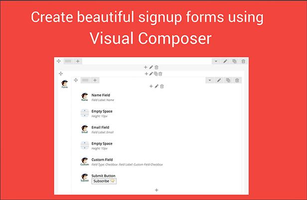 Visual Composer Mailchimp Addon - 4