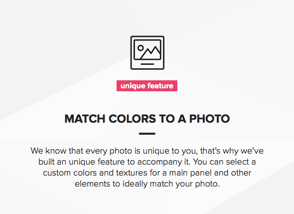 Mobile optimized responsive Photography template