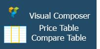 Visual Composer - Price Table|Compare Table
