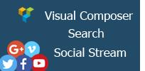 Visual Composer - Search Social Stream