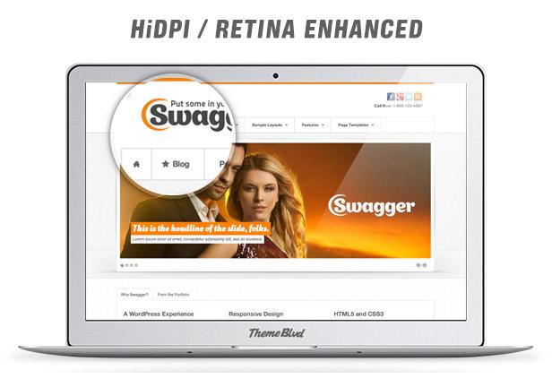Swagger Responsive WordPress Theme - 5