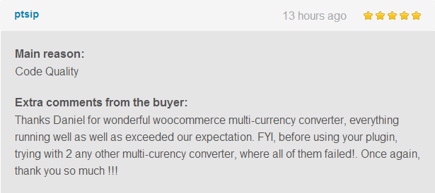 WooCommerce All in One Currency Converter review 1