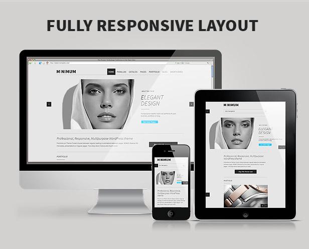 MINIMUM - Professional WordPress Theme - 4