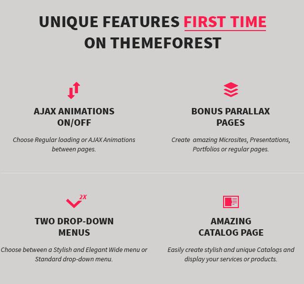 MINIMUM - Professional WordPress Theme - 1