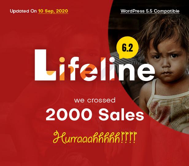 Lifeline - NGO, Fund Raising and Charity WordPress Theme - 1