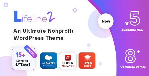 Lifeline - NGO, Fund Raising and Charity WordPress Theme - 8