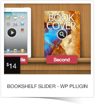 Multipurpose Bookshelf Slider - WordPress Plugin - 3
