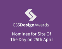 Minimal Creative Black and White WordPress Theme - CSS Design Awards