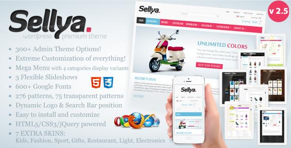 Sellya - Multi-Purpose Responsive OpenCart Theme - 3