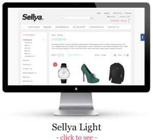 Sellya - Multi-Purpose Responsive OpenCart Theme - 14