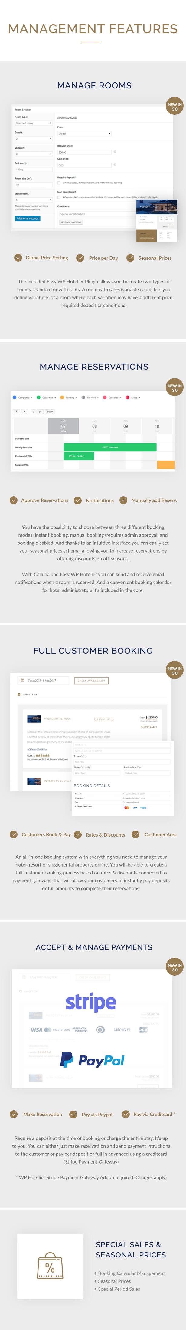 Hotel Calluna - Hotel & Resort & WordPress Theme - 3