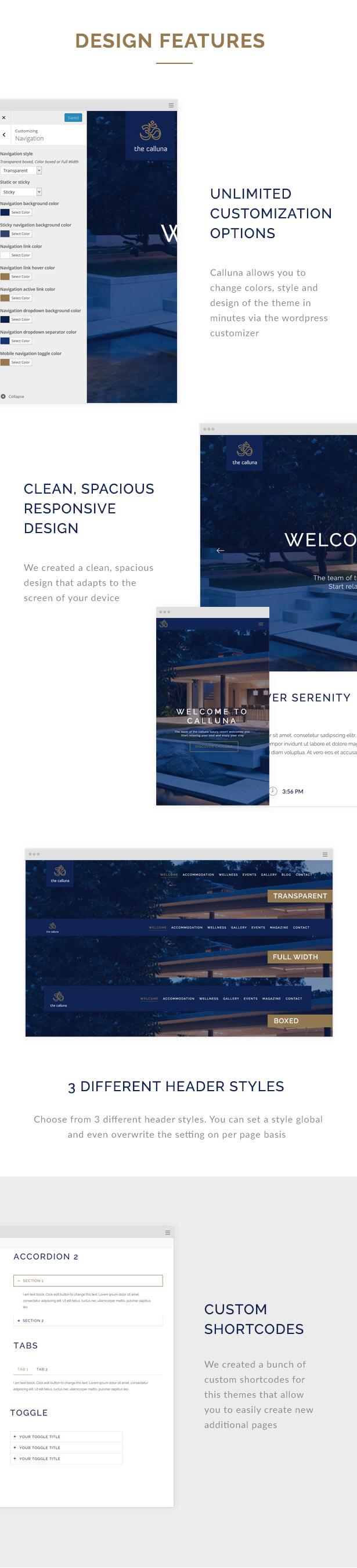 Hotel Calluna - Hotel & Resort & WordPress Theme - 4