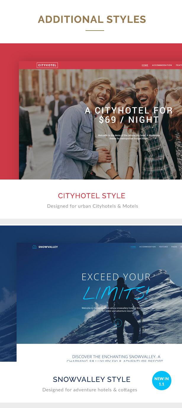 Hotel Calluna - Hotel & Resort & WordPress Theme - 5