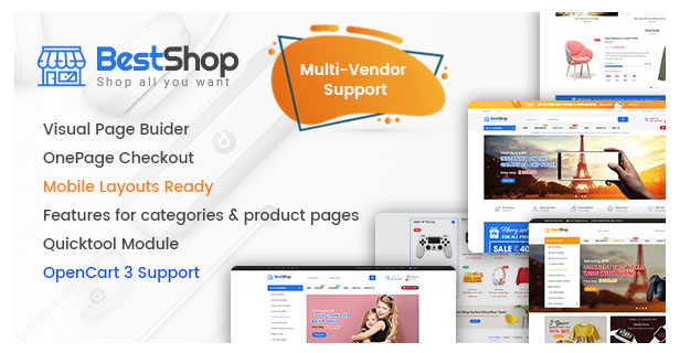 eMarket - Multi-purpose MarketPlace OpenCart 3 Theme (28+ Homepages & Mobile Layouts Included) - 11