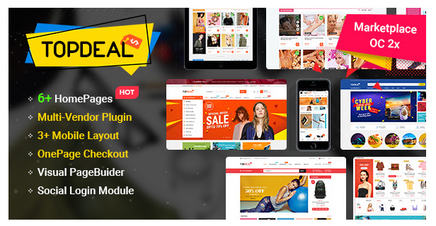 eMarket - Multi-purpose MarketPlace OpenCart 3 Theme (28+ Homepages & Mobile Layouts Included) - 13