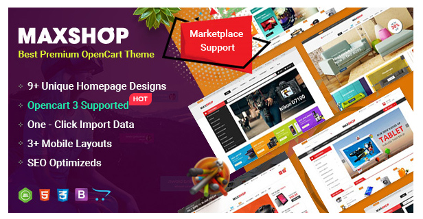 eMarket - Multi-purpose MarketPlace OpenCart 3 Theme (28+ Homepages & Mobile Layouts Included) - 10