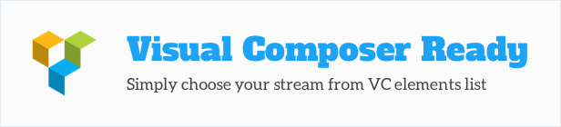WordPress Social Stream Visual Composer element