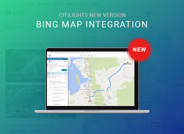 citilights real estate template features