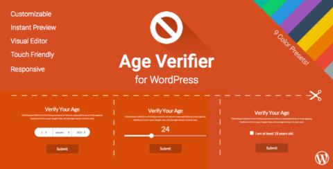 Age Verifier for WordPress