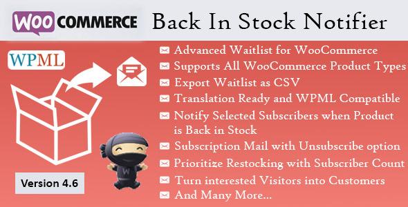 Back In Stock Notifier - WooCommerce Waitlist Pro
