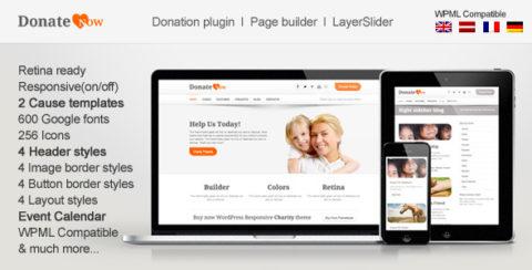 DonateNow   WordPress Theme for Charity