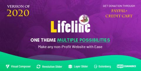 Lifeline - NGO, Fund Raising and Charity WordPress Theme