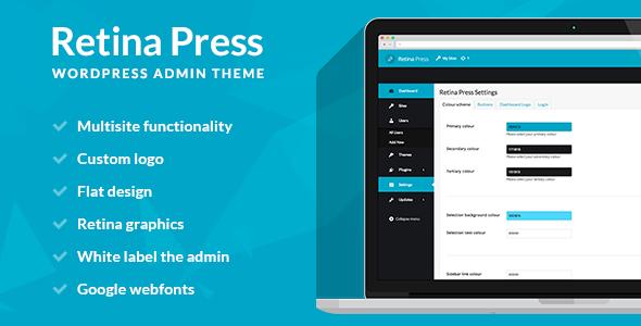 Retina Press - Wordpress admin theme
