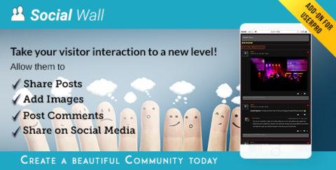Social Wall Addon for UserPro