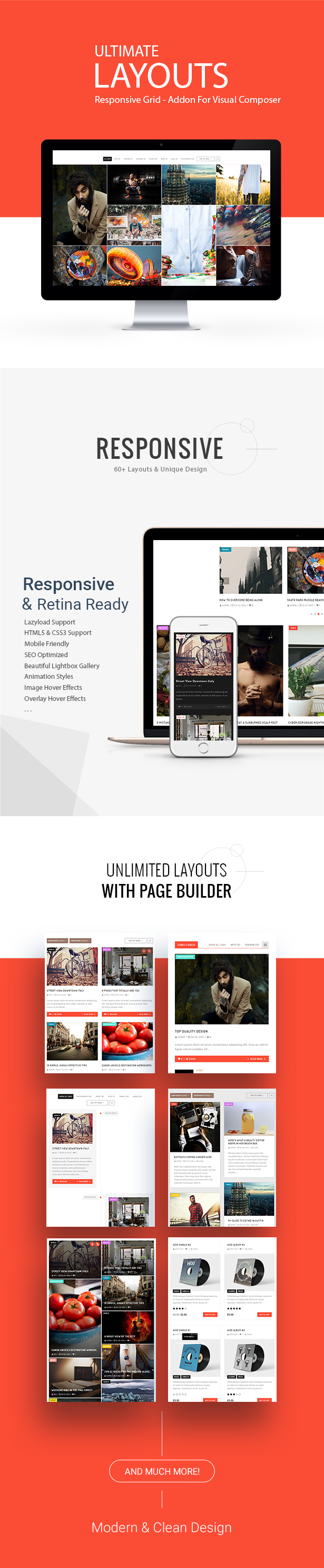 Ultimate Layouts - Responsive Grid & Youtube Video Gallery - Addon For WPBakery Page Builder - 2