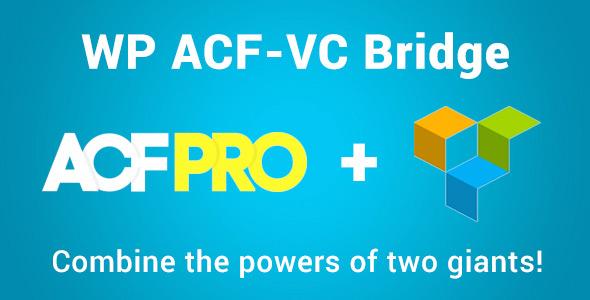 WP ACF-VC Bridge - Integrates Advanced Custom Fields and Visual Composer WordPress Plugins